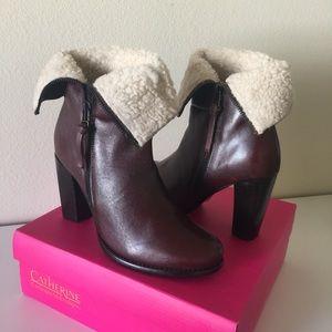 Zela Faux Fur Leather Bootie